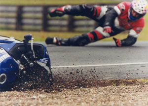Tony Carey - Getting his knee down (and elbow, and hands and......)
